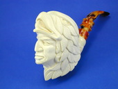 SMS Meerschaums - Indian with Eagle Headdress by Baglan (008)