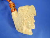 SMS Meerschaums - Indian with Eagle headdress by Baglan (001)
