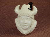 SMS Meerschaums - Lady Viking w/ Eagle by Baglan