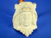 SMS Meerschaums - Indian with Wolf headdress  by Baglan (003)